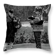 Amazing Pipes Throw Pillow