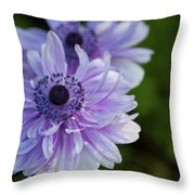 Amazing Purple Throw Pillow