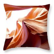 Amazing Rock Formations Throw Pillow
