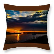 Amazing Sky Throw Pillow