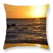 Amazing Sunset 230 Throw Pillow