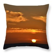 Amazing Sunset 251 Throw Pillow