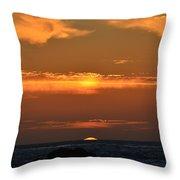 Amazing Sunset 262 Throw Pillow