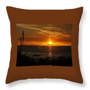 Amazing Sunset Throw Pillow
