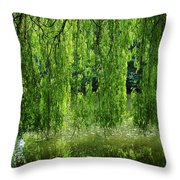 Amazing Tree Throw Pillow