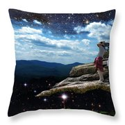 Amazing World Throw Pillow