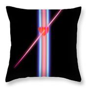Amazon Heart Throw Pillow