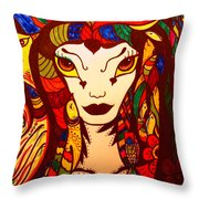 Amazon Queen Throw Pillow