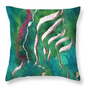 Amazon River Throw Pillow
