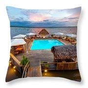 Amazon Swimming Pool Throw Pillow