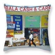 Ambala Cash And Carry Throw Pillow