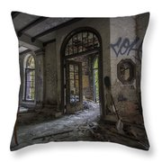 Ambassador Apartments May 11 2015 009 Throw Pillow