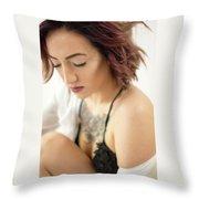 Amber 15 Throw Pillow