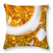 Amber #3069 Throw Pillow