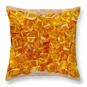 Amber #4903 Throw Pillow