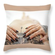 Amber 8 Throw Pillow