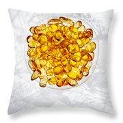 Amber #8743 Throw Pillow