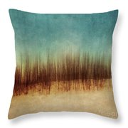Amber And Blues Throw Pillow