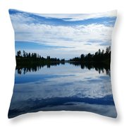 Amber Dusk Throw Pillow