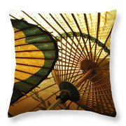 Amber Light Within Throw Pillow