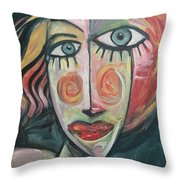 Amber Throw Pillow