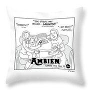 Ambien Coming This Fall To Abc Throw Pillow