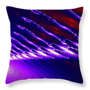 Ambient Noise Throw Pillow