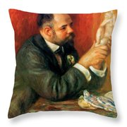 Ambroise Vollard 1908 Throw Pillow