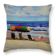 Amelia Afternoon Throw Pillow