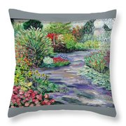 Amelia Park Blossoms Throw Pillow
