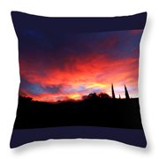 Amelia Sunsets 70 Throw Pillow