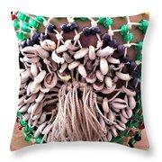 Amen Ankh Shakere Throw Pillow
