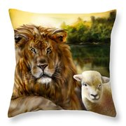 Amen-so Shall It Be Throw Pillow