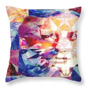 Ameradonna Throw Pillow