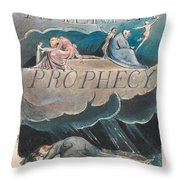 America. A Prophecy. Plate 2 Throw Pillow