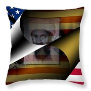 America May 2011 Throw Pillow