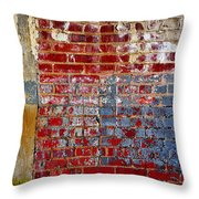 America Throw Pillow