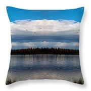 America The Beautiful 2 - Alaska Throw Pillow
