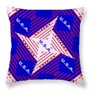 America-usa Throw Pillow