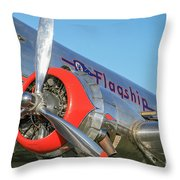 American Airlines Flagship Throw Pillow