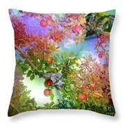 American Apple Pie Throw Pillow