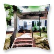 American Beautiful House Throw Pillow