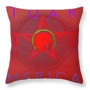 American Throw Pillow