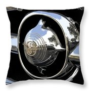 American Chrome Throw Pillow