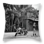 American Classic Throw Pillow