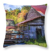 American Dodge Throw Pillow
