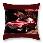 American Dream Cars Catus 1 No. 1 H A Throw Pillow