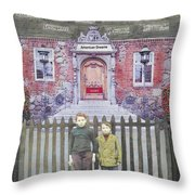 American Dreams Throw Pillow