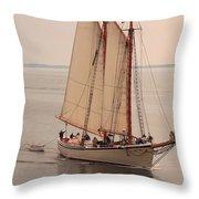 American Eagle Sail Throw Pillow