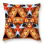 American Elections 2016 Throw Pillow
